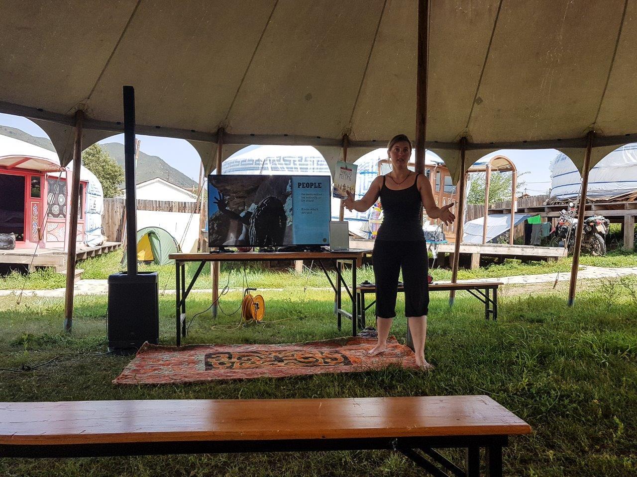 Lokbkes Vortrag über Wild-Camping