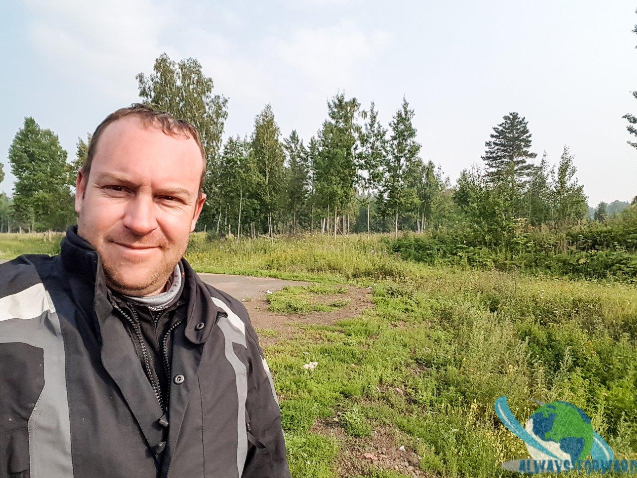 Wald-Selfie