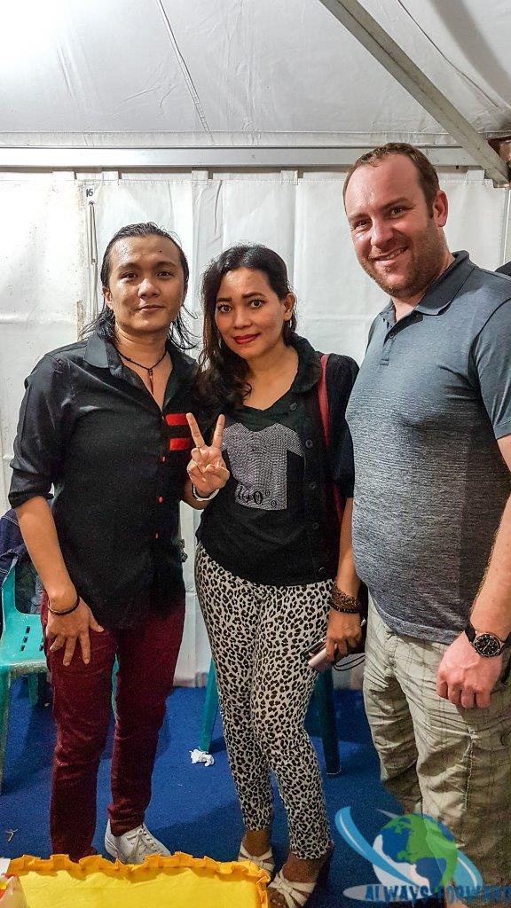 berühmter indonesischer Musiker