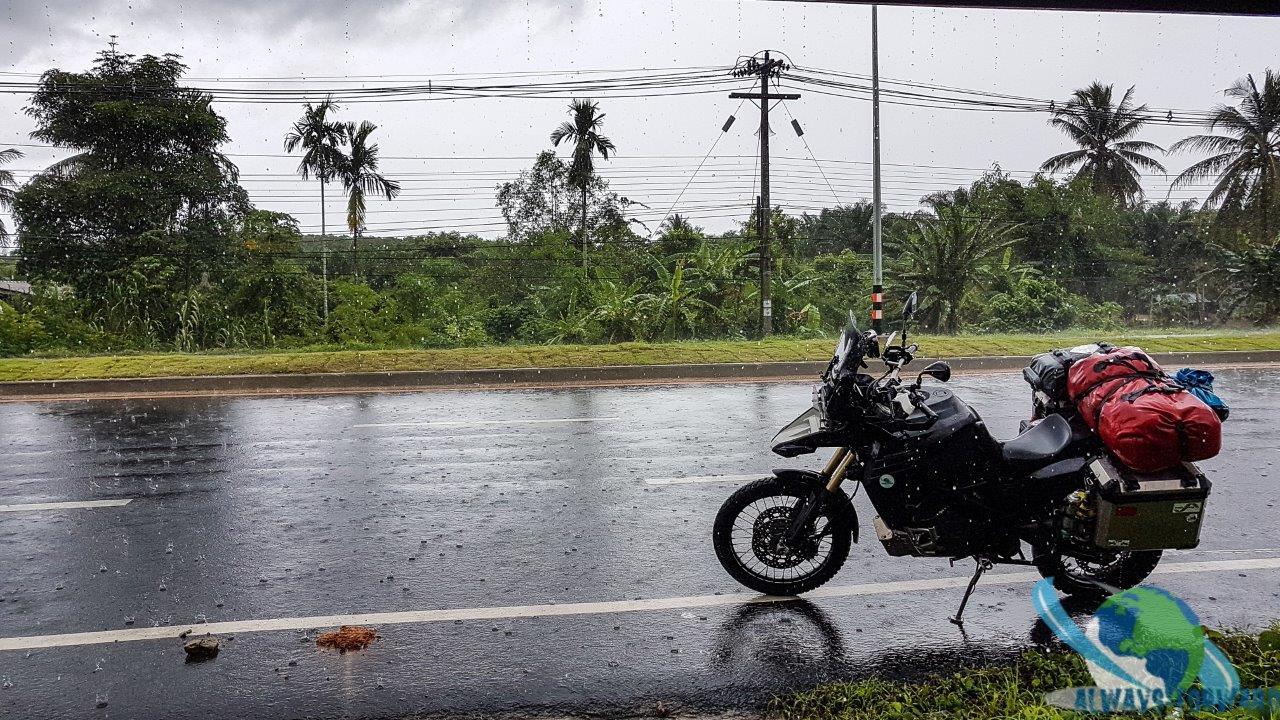 Monsun-Regen