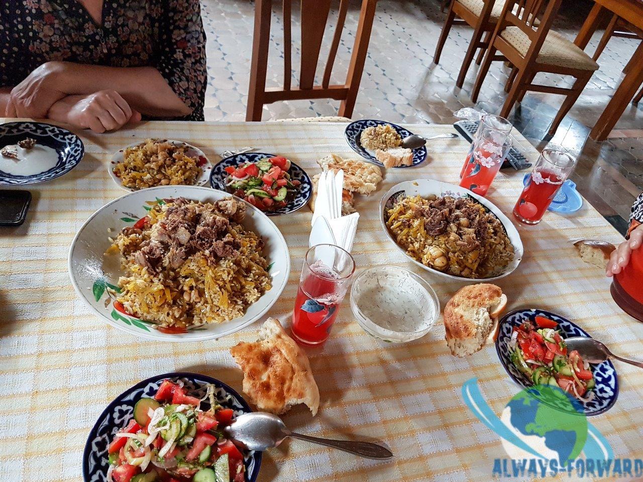typisch Usbekisches Essen