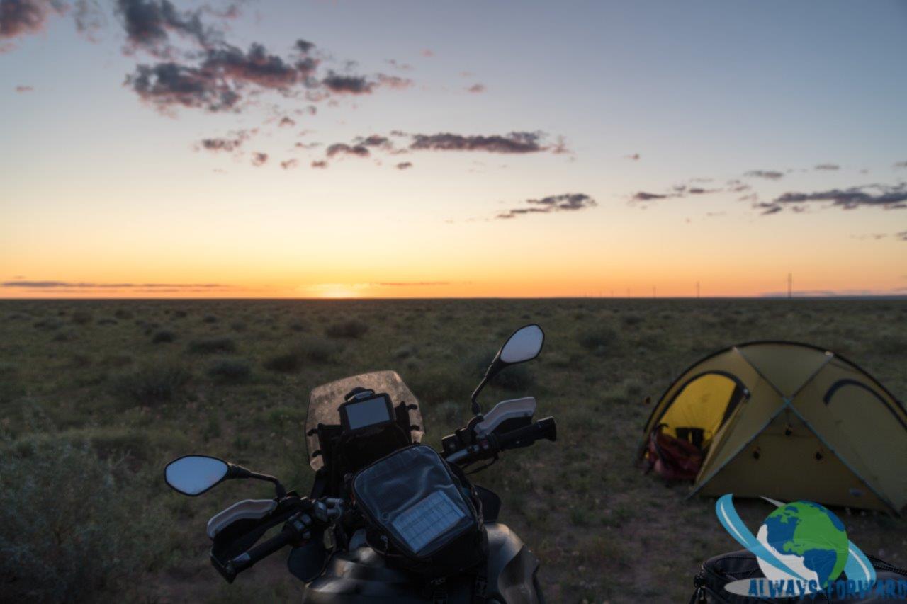Sonnenuntergang geniessen