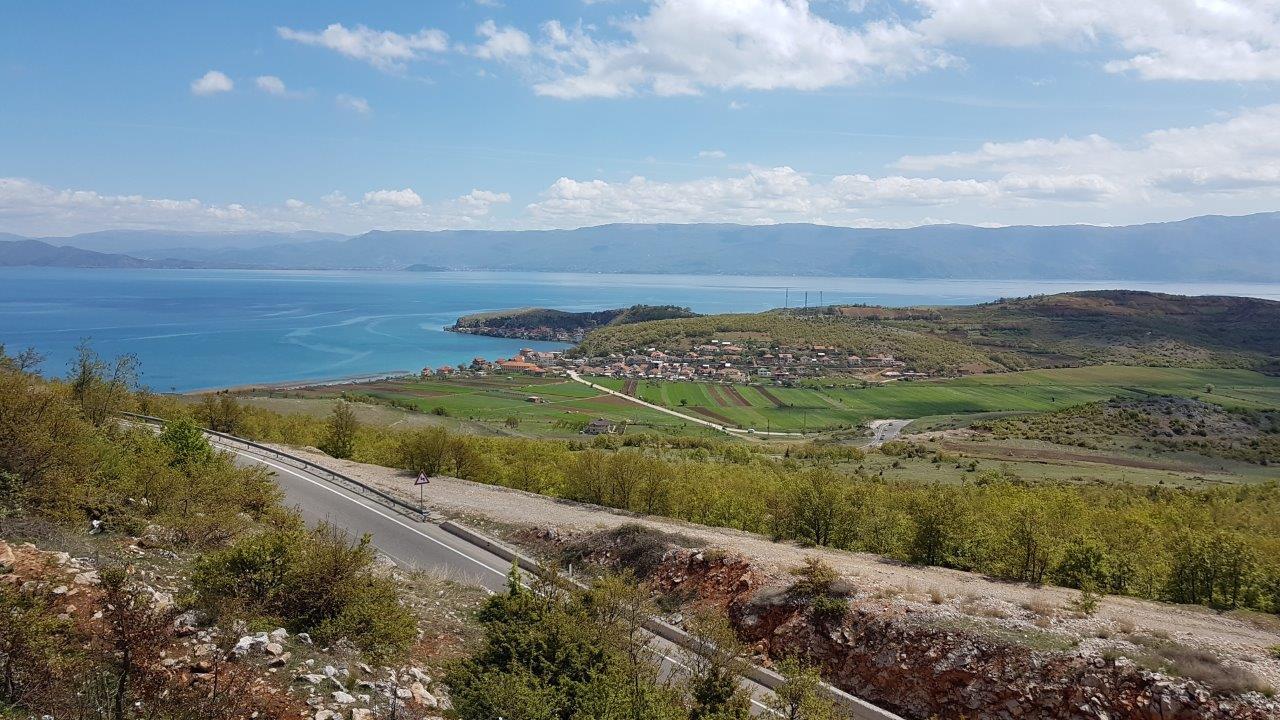 Aussicht auf den Ohridsee