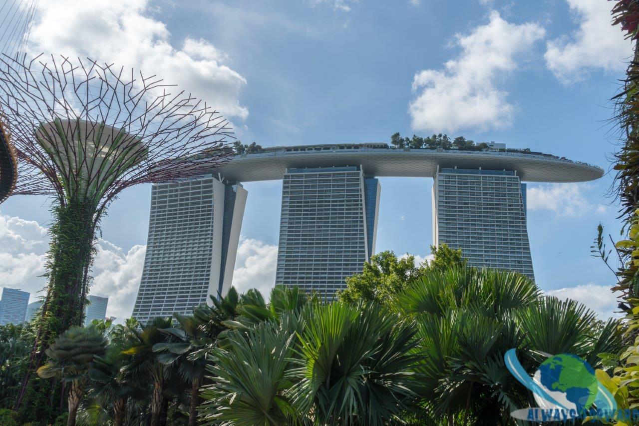 das berühmte Hotel in Singapur