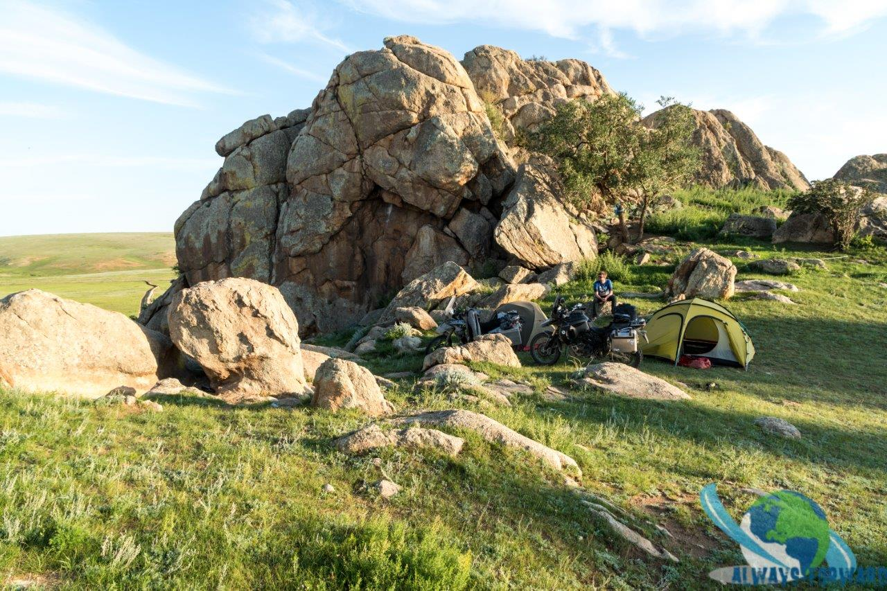 Wilder Campingplatz