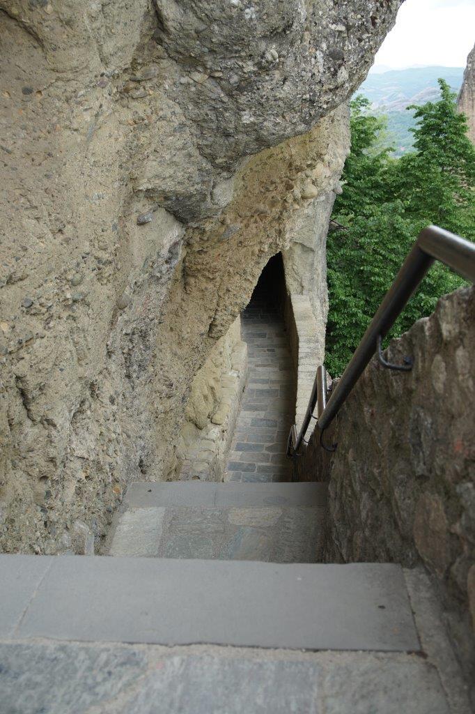 der Weg zum Kloster