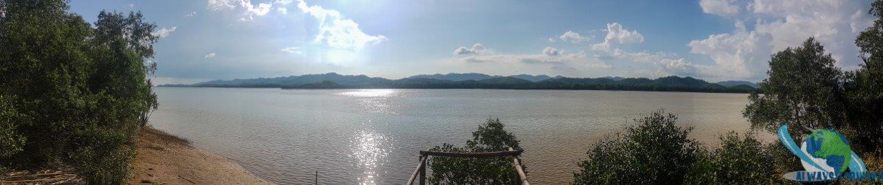 Myanmar von Weitem