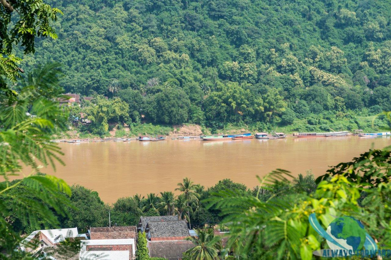 Aussicht auf den Mekong