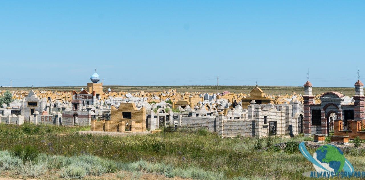 Friedhof - ein Miniatur-Dorf