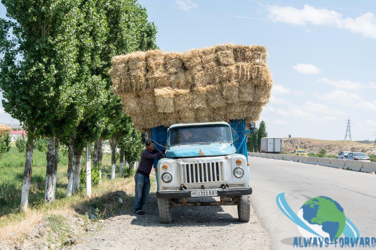 der arme Lastwagen