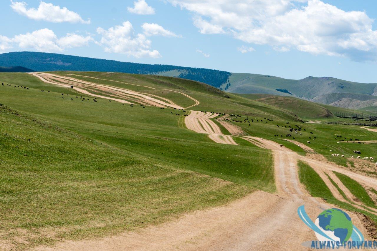 Mongolische Strassen