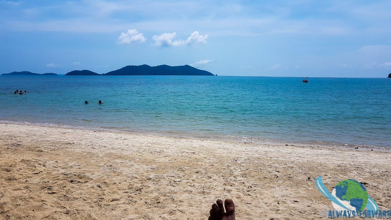 Relaxen am Sandstrand