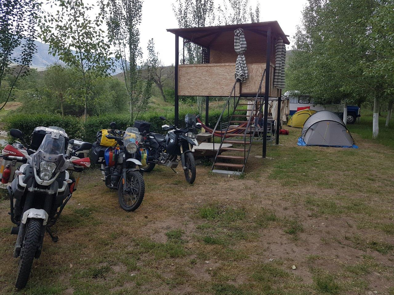 wieder mal Camping