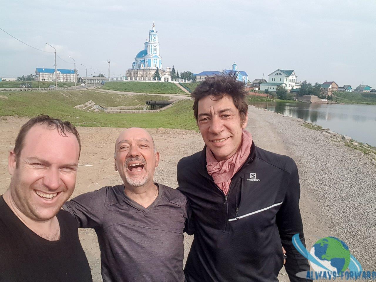 Selfie mit den Franzosen