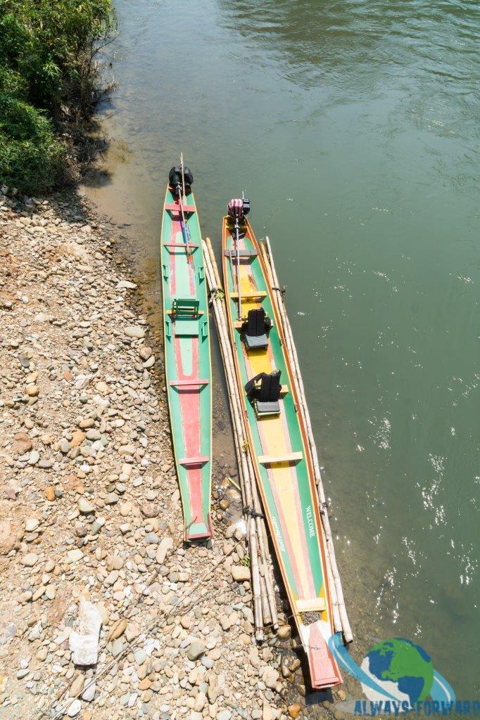 laotische Speedboote