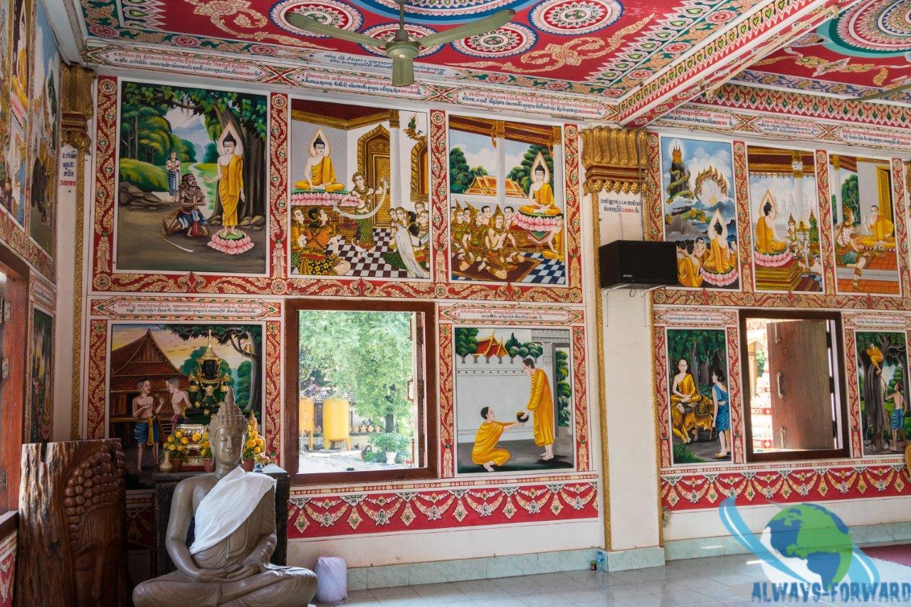 wunderschöne Wandmalereien