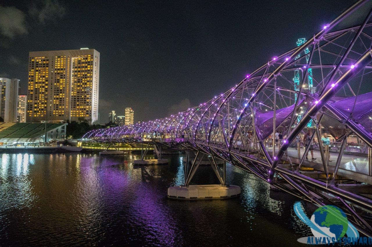 die Helix-Brücke