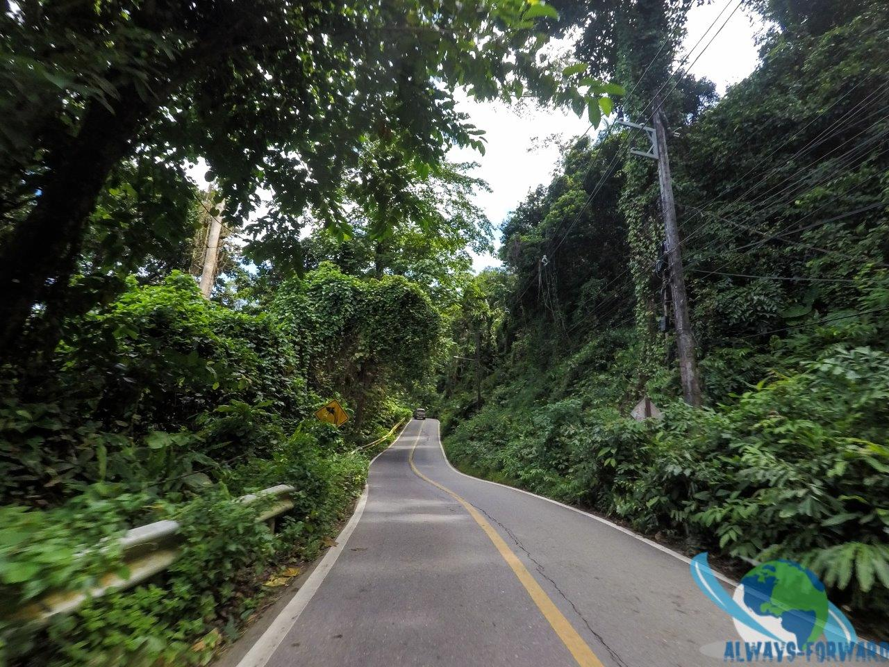 Strasse auf Koh Chang