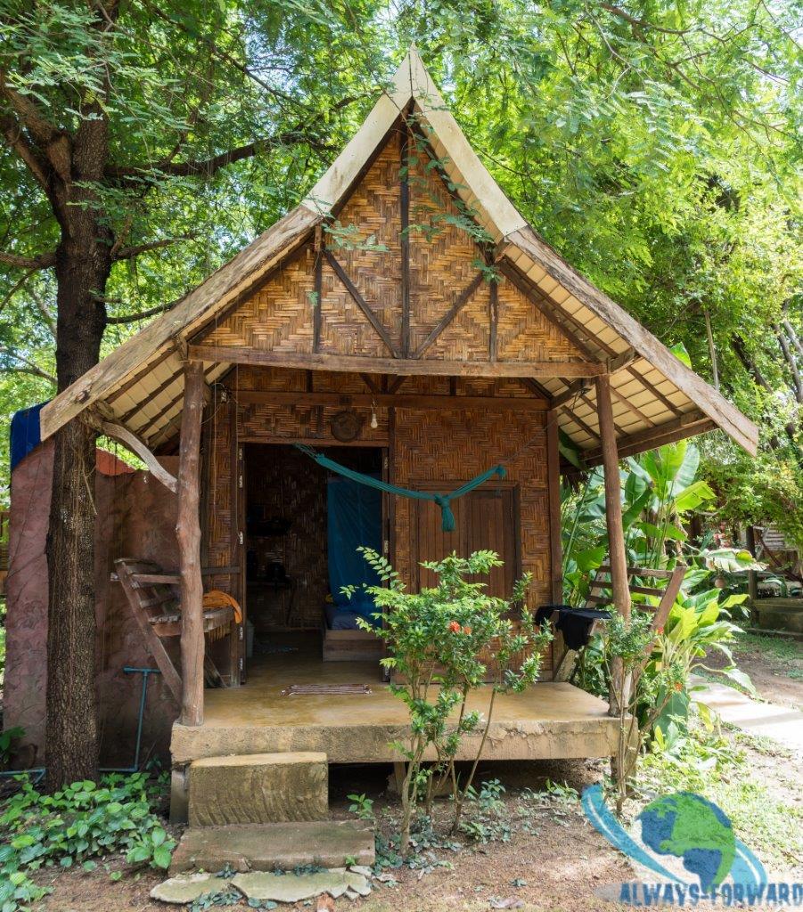 meine Robinson-Crusoe Hütte