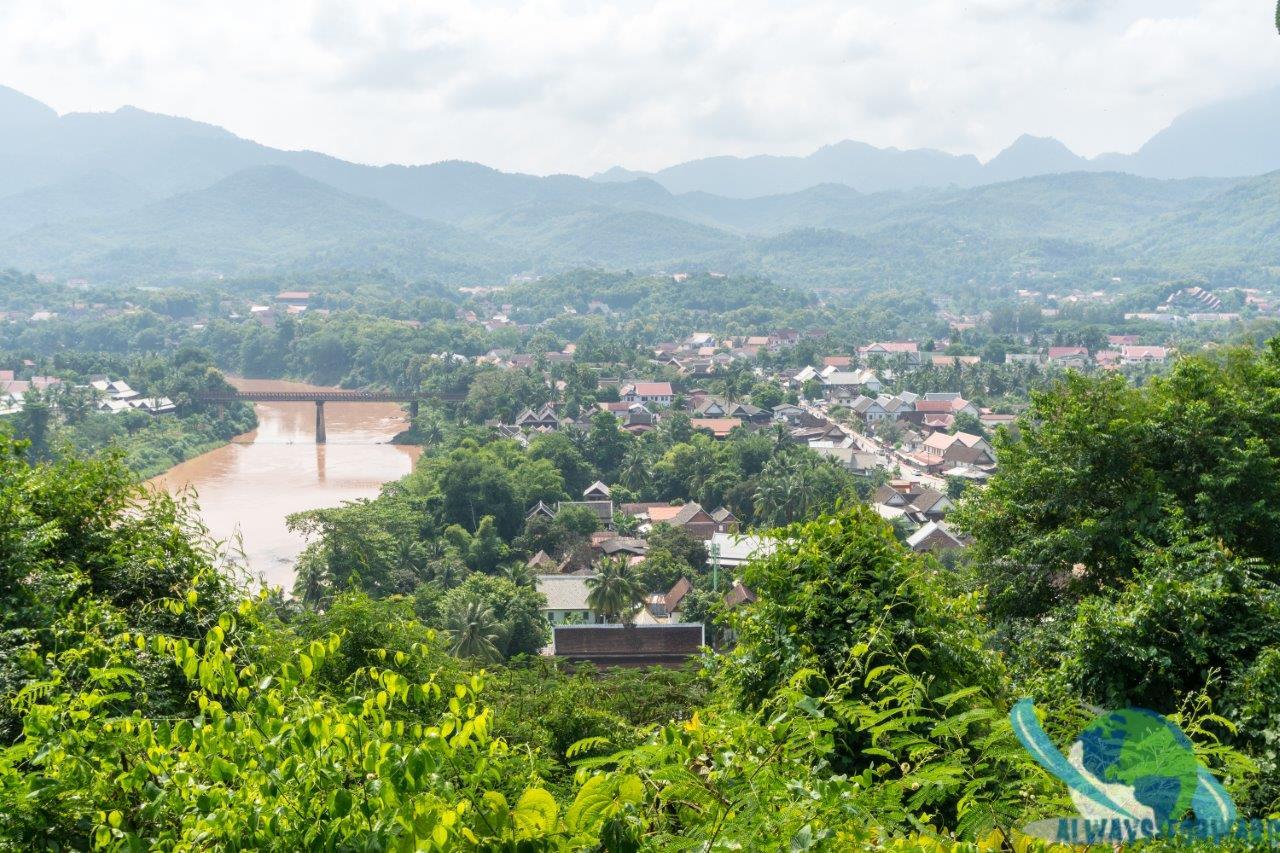 Aussicht auf Luang Prabang