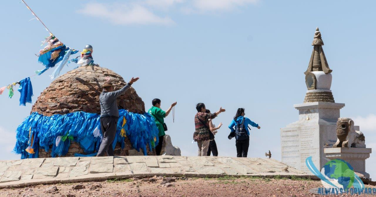 beten auf Mongolisch