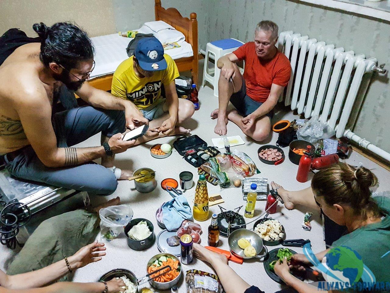 Nachtessen im Zimmer