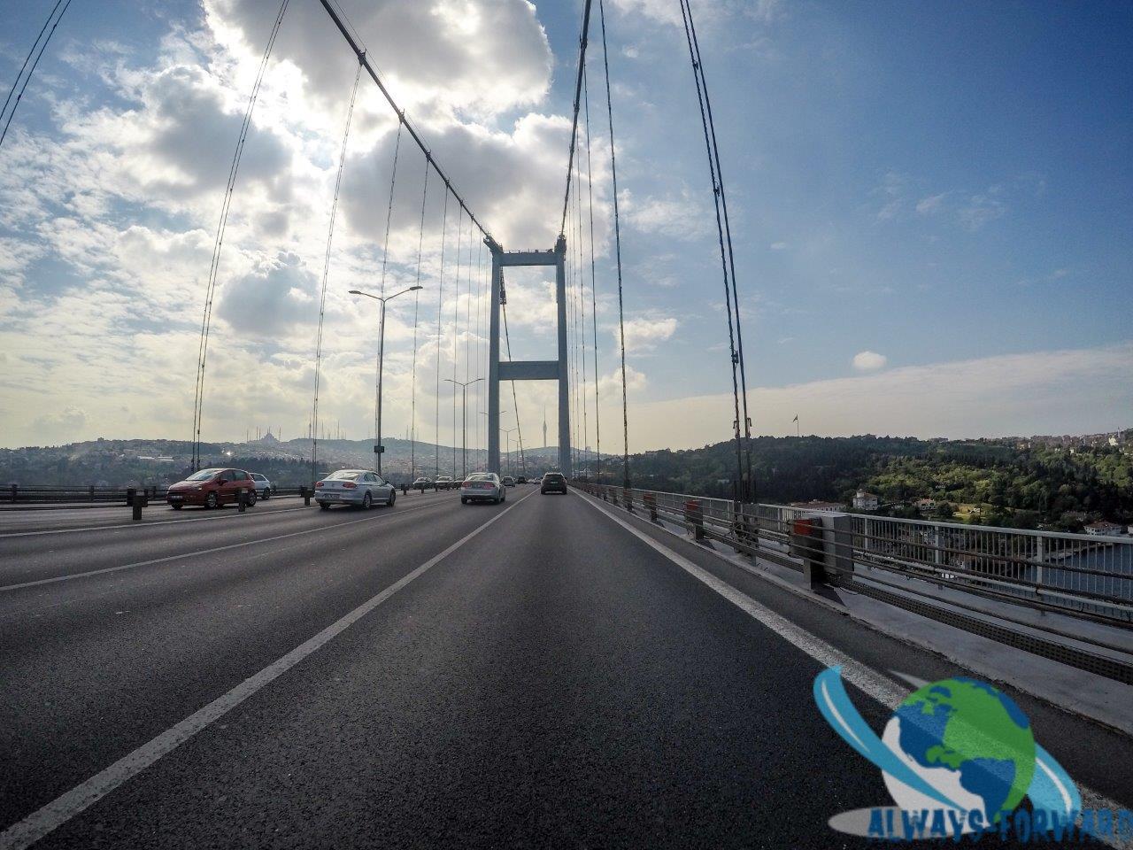 Bosporus-Brücke (verbindung Europa-Asien)