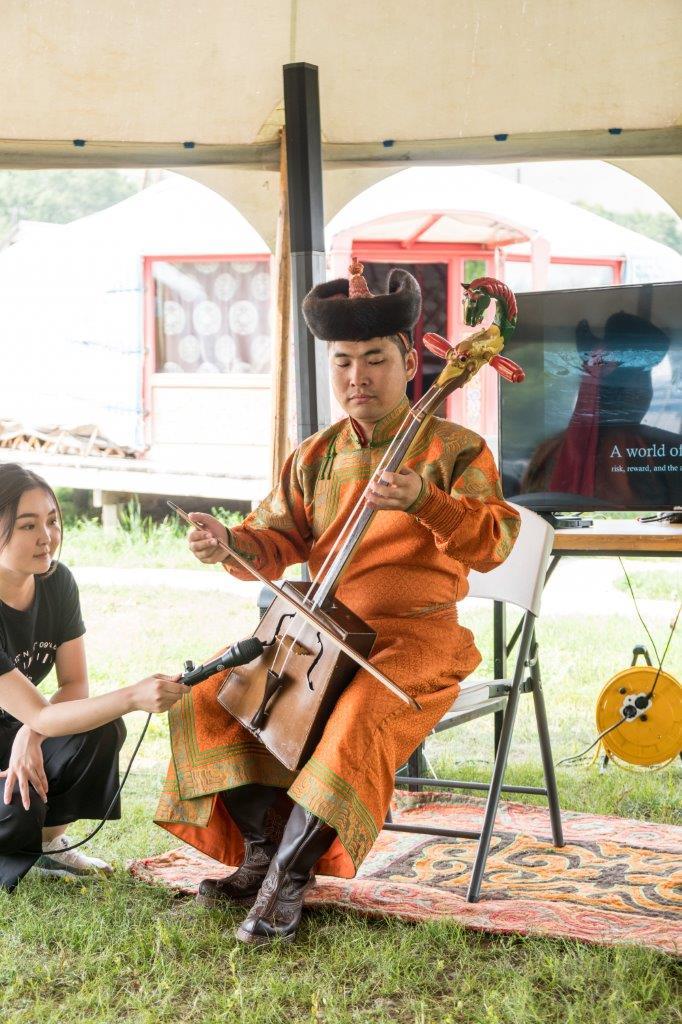 Mongolische Musik