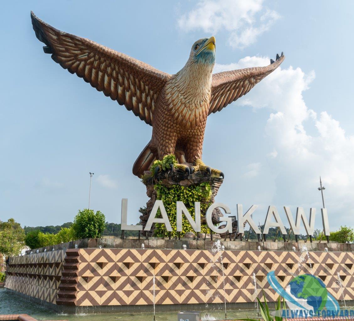 das Wahrzeichen von Langkawi