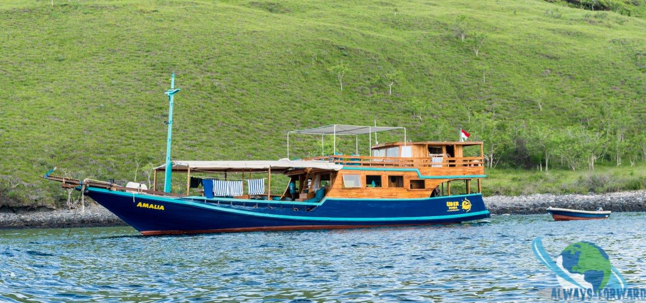 Amalia - unser Boot