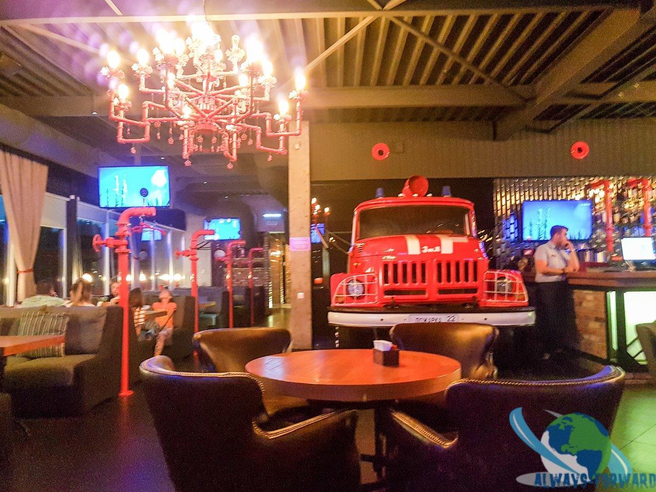 cooles Restaurant in Barnaul