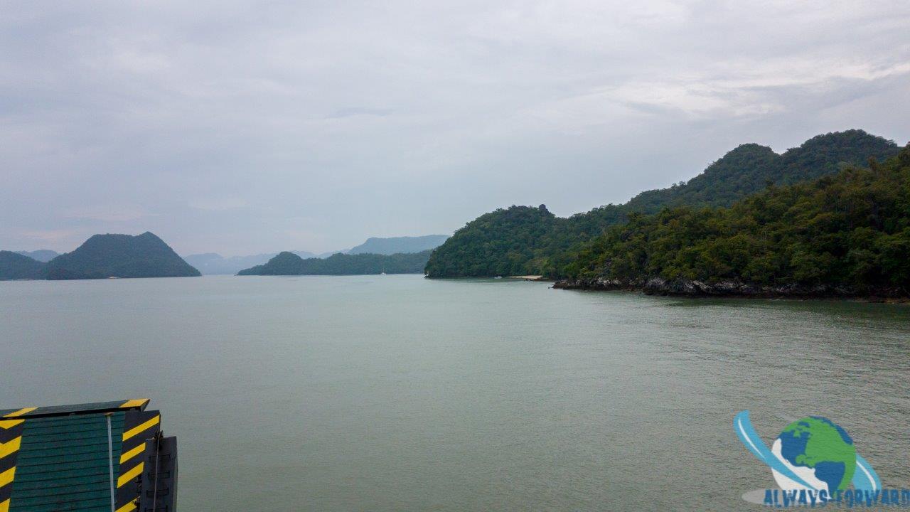 Fähre nach Langkawi