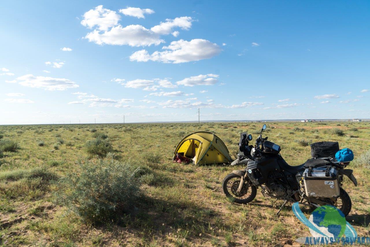 letztes mal zelten in der Mongolei