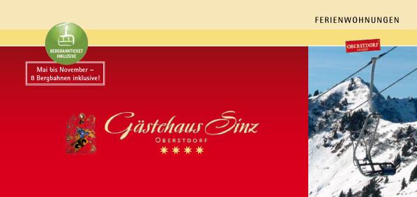 Titel Gästehaus Sinz - Zimmer