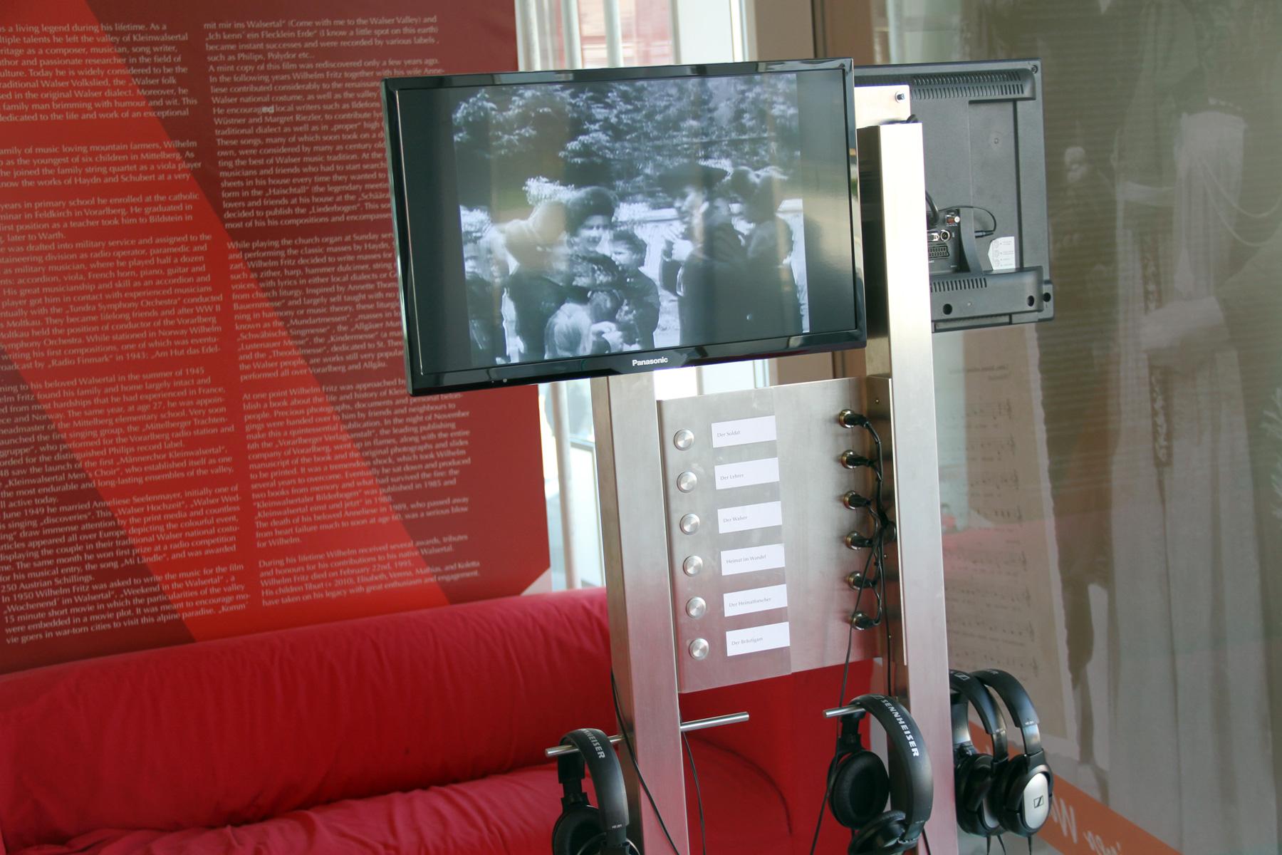 100 Jahre Wilhelm Fritz – Ausstellung im STERN, Riezlern