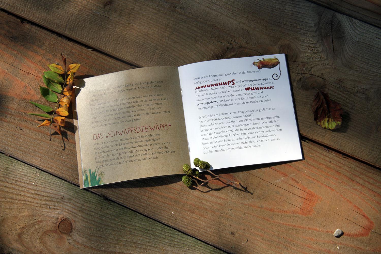 Das Haspelwaldmändle im Kleinwalsertal – Kinderbuch – Text & Illustrationen aus dem zuckerschnecken-Büro