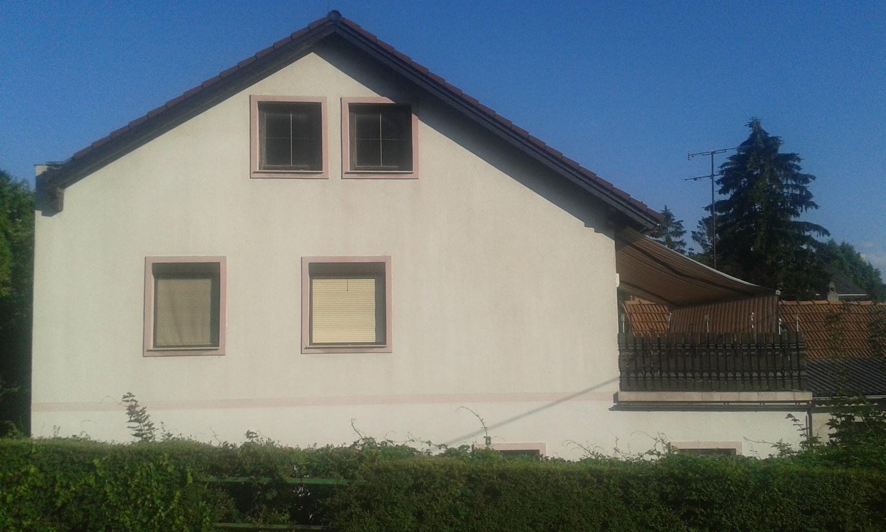 Fassade Hundsheim nachher