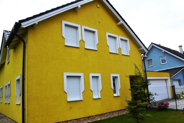 Untersiebenbrunn - nach der Fassadenreinigung