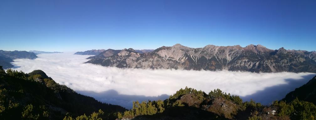 Wunderschönes Nebelmeer