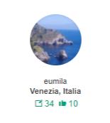 eumila Contributore livello 4 Invia un messaggio Utente di TripAdvisor da ago 2012 50-64 uomo da Venezia, Italia