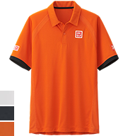 UNIQLO Novak Djokovic 2015 French Open Polo Shirt