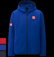 UNIQLO Kei Nishikori 2015 French Open Blue Track Jacket