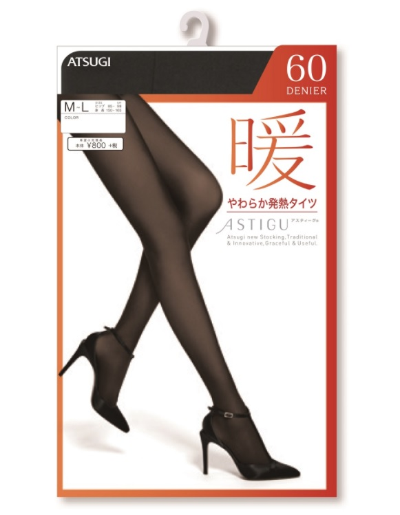 ATSUGI ASTIGU Pantyhose Stockings Tights 美 60D Beauty M-LL Made in Japan F//S