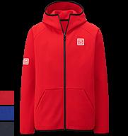 UNIQLO Kei Nishikori 2015 French Open Red Track Jacket