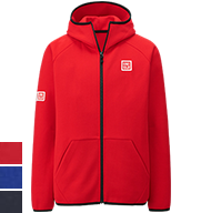 UNIQLO Kei Nishikori 2015 French Open Red Track Jacket