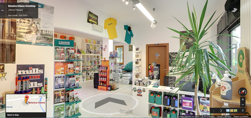 Botanica Urbana GrowShop Tour Virtuale