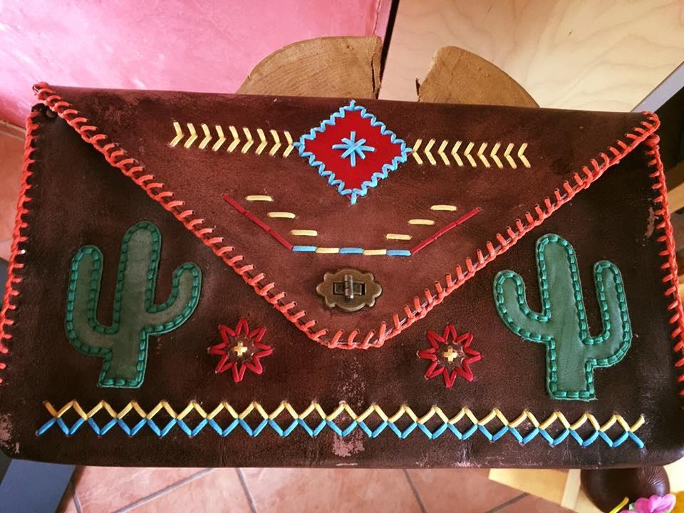 Clutch Mexico-Style antik in Zusammenarbeit mit Fa. La Merca