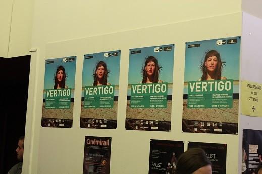 Affiches de l'exposition Vertigo.