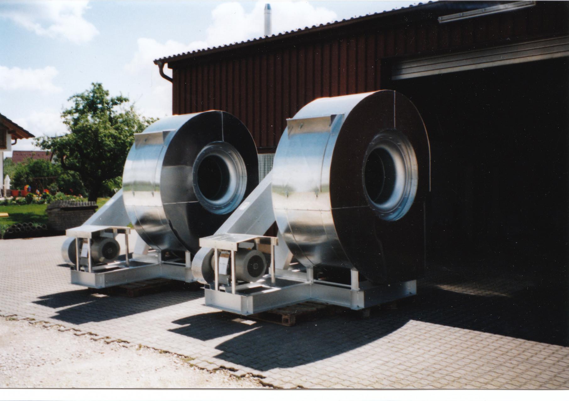 Ventilatorisolierung Mittel