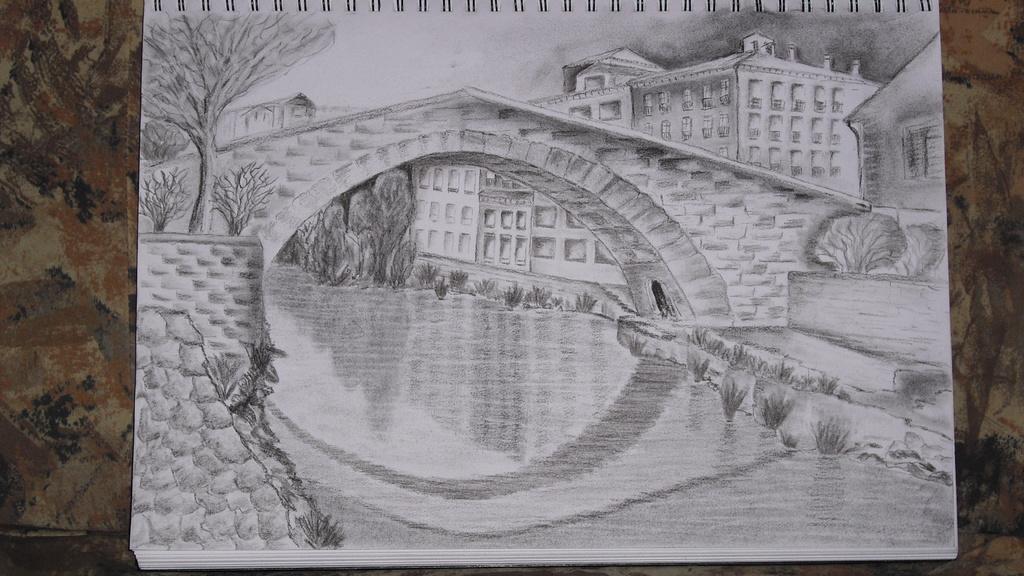 Brücke in Estella (Spanien - Jakobsweg)